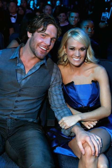 I love this picture of Carrie and Mike!!