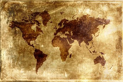 antique world map high resolution - Google Search damar - new world map canvas picture