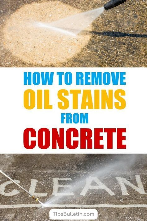 How To Get Rid Of Old Oil Stains On Driveway