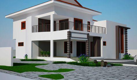 16 Perfect Modern Mansion Designs Modern house plans, Modern - credit impot maison neuve