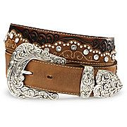 matched with some cowboy boots! | Belts for women, Western