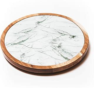 Amazon Com 12 Lazy Susan In 2020 Glass Texture Glass Plates Green Marble