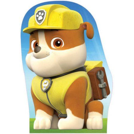 Paw Patrol Rubble Cardboard Stand Up Walmart Com In 2021 Marshall Paw Patrol Rubble Paw Patrol Paw Patrol Characters