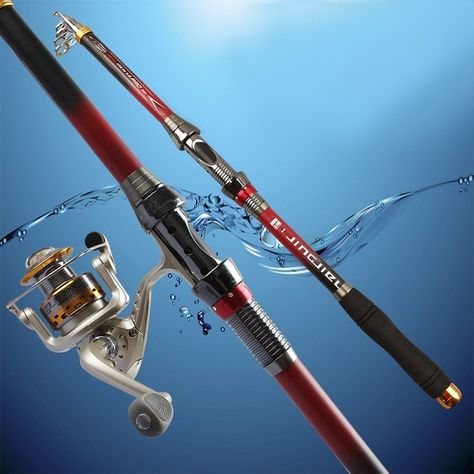 Exclusive Quality Carbon Fiber Telescopic Fishing Rod 2.1