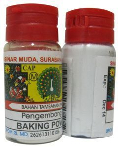Soda Kue Baking Powder : baking, powder, Baking-Powder, Memanggang, Bahan-bahan
