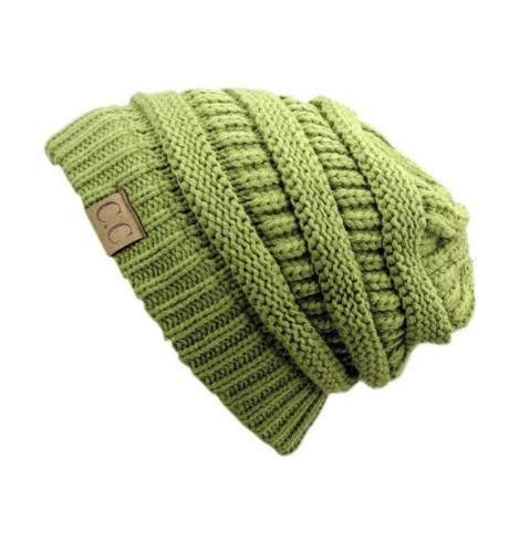 6e257a2e CC Knit Slouchy Baggy Beanie Winter Hat Ski Slouchy Cap Skull Unisex  Absolutely Beautiful and Stylish baggy beanie. Want a style that is simple  yet chic?