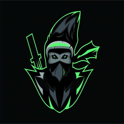 Assasin Logo Mascot Logo Mascot Logo Esport Esport Design Png