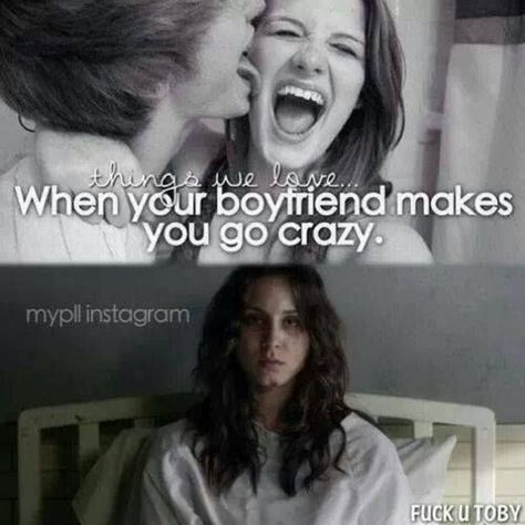 """This hilarious meme about being crazy in love: 