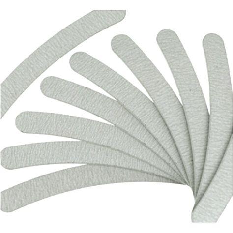 Livraison gratuite 10psc / lot gris Nail fichiers ponçage 100/180 Curve Banana pour Nail Art conseils manucure # ZH223 dans Limes à ongle de Health & Beauty sur AliExpress.com   Alibaba Group