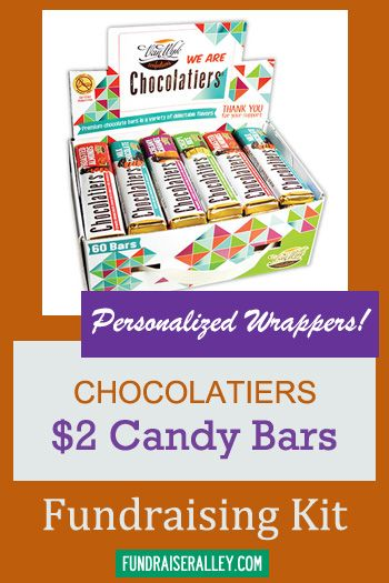 Personalized Van Wyk Chocolatiers Candy Bar Fundraising Kit Custom Fundraising Idea Candybarfund Candy Fundraiser Personalized Candy Personalized Candy Bars