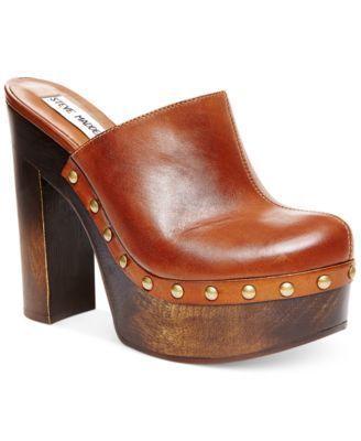Estado dolor referir  Steve Madden Luhna Platform Clogs...these are my next shoe in 2020 | Platform  clogs, Clogs shoes, Shoes