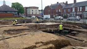 Archaeological Excavation, Coleshill Street, Flint : Excavation Diary 20th-28th May 2015
