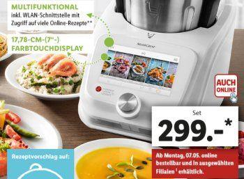 Monsieur Cuisine Connect Thermomix Alternative Jetzt Mit Wlan