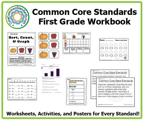 This First Grade Common Core Workbook is the largest collection of resources for teaching the Common Core State Standards.