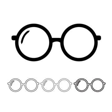 Glasses Icon Vector Glasses Icons Glasses Fashion Png And Vector With Transparent Background For Free Download Free Vector Illustration Glasses Stock Images Free