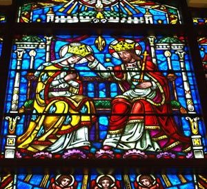 Stained Glass Window Pauline Chapel At The Broadmoor In Colorado