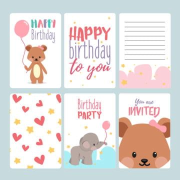 Birthday Png Vector Psd And Clipart With Transparent Background For Free Download Pngtree Free Birthday Card Birthday Card Template Unique Birthday Cards