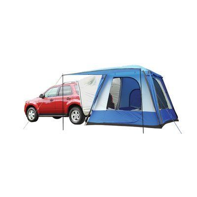 The Rightline Gear SUV Tent lets you sleep off the ground in the comfort of your own vehicle. The tent connects to the back of any size SUV minivau2026  sc 1 st  Pinterest & The Rightline Gear SUV Tent lets you sleep off the ground in the ...