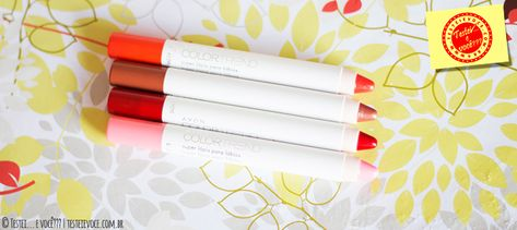 Super Lápis para Lábios ColorTrend – Avon – Ei, é Útil! | ANA & ISA