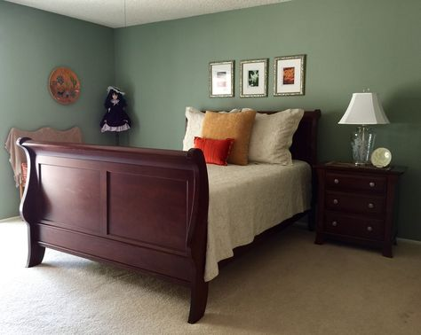 Walls Are Painted With Sherwin Williams Coastal Plains In