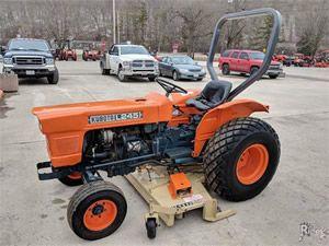Kubota L245dt Tractor Service Repair Manual Repair Manuals Tractors Kubota