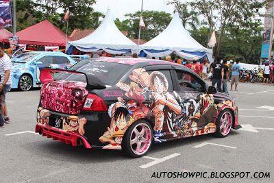 Itasha Saga Blm Love The Grafitti Classic Car Decal Street Racing Cars Tokyo Drift Cars