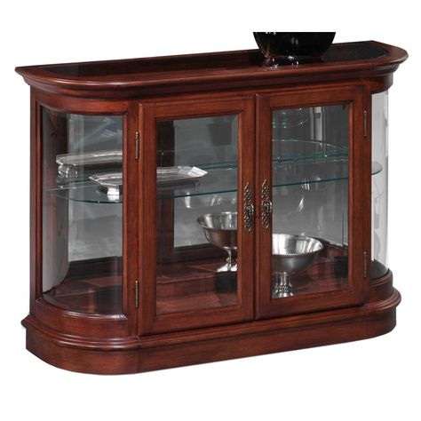 Thomasville Furniture Curio Sofa Table
