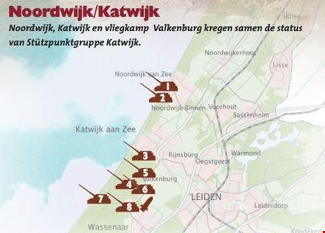 Atlantikwall Zuid Holland Op De Kaart Gezet