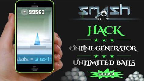 Smash Hit Hack 2018 Updated | smash, tool hacks, hacks