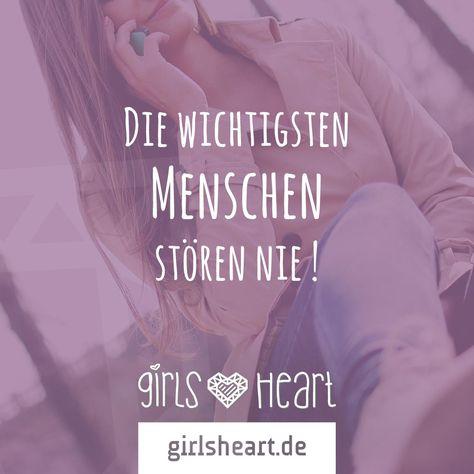 Wer darf euch immer stören?  Mehr Sprüche auf: www.girlsheart.de  #freundinnen…