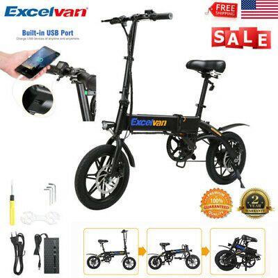 Sponsored Ebay 14 250w Aluminum Folding Electric Bike Mountain