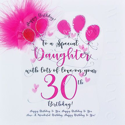 Image Result For 30 Birthday Wishes For Daughter 50th Birthday Wishes 30th Birthday Cards 30th Birthday Wishes