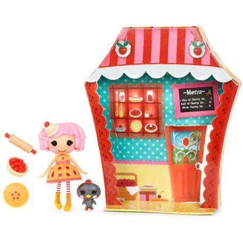 Mini Lalaloopsy Sugar and Spice Doll - Cherry Crisp Crust