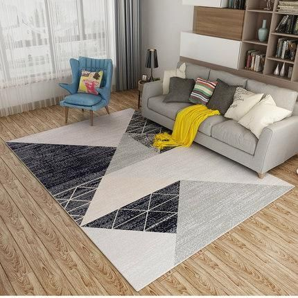 Modern Nordic Memory Foam Rug Living Room Carpet Decor