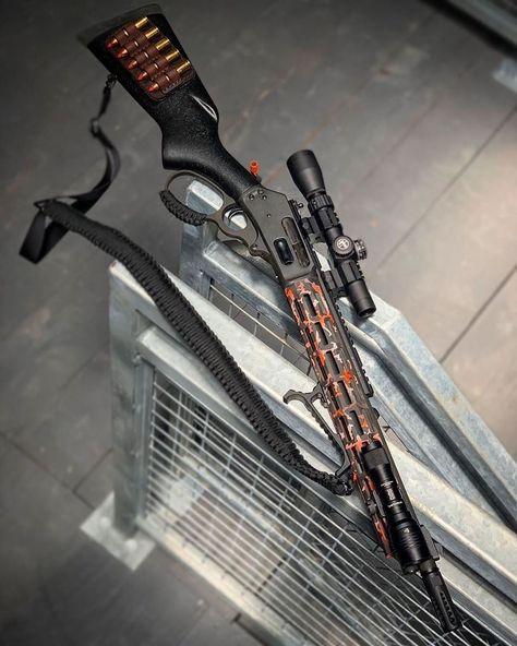 Hidden Weapons, Weapons Guns, Guns And Ammo, Marlin 1895, Kalashnikov Rifle, Lever Action Rifles, Custom Guns, Military Guns, Hunting Rifles