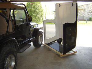 Build A Jeep Wrangler Hard Top Storage Dolly Free For Your Cj Yj Tj Jk Wrangler At Http Dlm Distri Jeep Wrangler Hard Top Jeep Hardtop Storage Jeep Wrangler