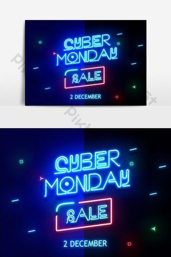 Cyber Monday Sale Neon Text Effect Graphic Elements Psd Free Download Pikbes Cyber Monday Sale Neon Text In 2020 Text Effects Cyber Monday Sales Cyber Monday