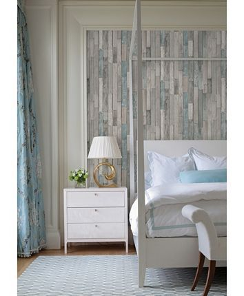 Brewster Home Fashions Barn Board Thin Plank Wallpaper 396 X 20 5 X 0 025 Reviews All Wall Decor Home Decor Macy S Faux Wood Wall Wood Plank Wallpaper Wood Wallpaper