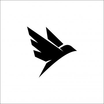 Eagle Silhouette Flying Bird Silhouette Bird Silhouette Eagle Png And Vector With Transparent Background For Free Download Fly Logo Origami Logo Pet Logo Design