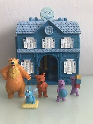 Bear In The Big Blue House Playset Toys Bear Tutter Ojo Pip And