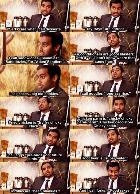 Tom Haverford. Parks and Recreation is my favorite show ever.