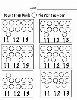Counting Worksheets 1 20 Animals 1 10 Shapes 11 20 30 Pages