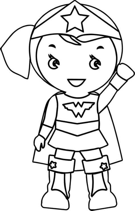 Baby Wonder Woman Coloring Pages Batman Coloring Pages Star Coloring Pages Cartoon Coloring Pages