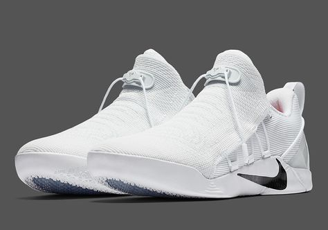 best service 9cb50 46dd7 Nike s latest Kobe signature model, the Kobe A.D. NXT, will release in a brand  new white black colorway next week at Nike Basketball retailers.