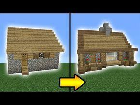 Minecraft Tutorial How To Transform A Villager House Youtube Minecraft Tutorial Minecraft House Designs Minecraft