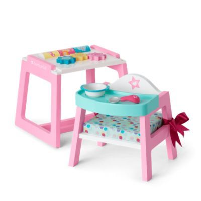 Convertible High Chair Play Table In, Small Child's Chair