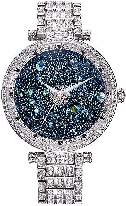Amazon Com Princess Butterfly Lady Watch Full Of Austria Crystal