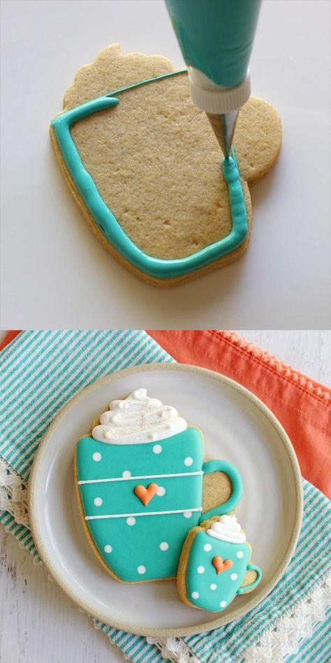 Deliciously adorable Pumpkin Spice Latte Mug Cookies
