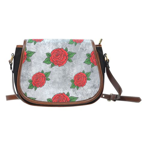 InterestPrint Sunflowers with Pattern Crossbody Bag and Saddle Shoulder Bag Vintage Satchel for Women