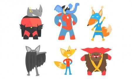 20+ People Animals Superheroes Clipart